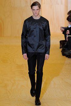 Jil Sander Fall 2011 Menswear Fashion Show