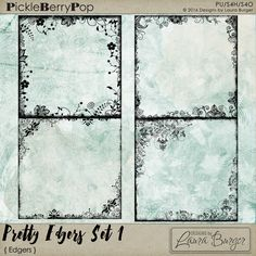 Pretty Edgers Set 1 By Designs by Laura Burger