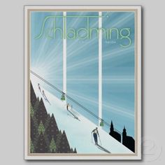 Schladming Vintage/Retro Reklame Ansichtskarte