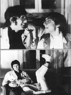 John Entwistle and Keith Moon The Who
