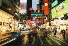 Hong Kong nightlife #AmericanApparel #PinATripWithAA