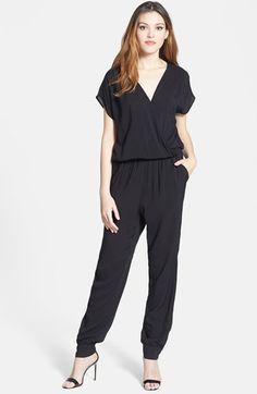 Olivia Moon Wrap Top Jumpsuit (Regular & Petite) | Nordstrom