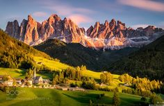 Santa Maddalena Val di Funes Italy by andiblockiersystem. Please Like http://fb.me/go4photos and Follow @go4fotos Thank You. :-)