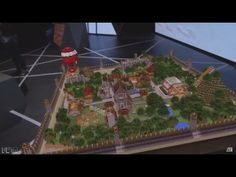 Minecraft HoloLens Demo -- Official Gameplay Demo (E3 2015) - YouTube