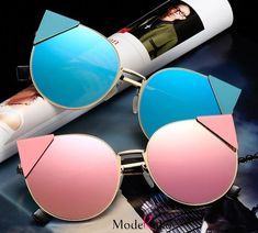 Women's sunglasses, men's sunglasses, sunglasses with transparent lenses Cute Sunglasses, Mirrored Sunglasses, Sunglasses Women, Sunnies, Transparent Sunglasses, Cool Glasses, Glasses Frames, Lunette Style, Fashion Eye Glasses