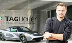 Leo Dicaprio drives a Tag Heuer now instead of his Prius Green car.  He still endorses electric cars.