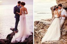Ideas para fotos de boda en la playa