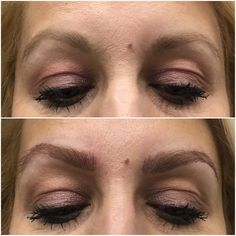Perfect reshaping blond eyebrows permanent makeup #chakanatattoo