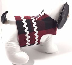 Dog Pet Cat Clothes Harness Size Small 4.5 to 6 LBS Handmade NEW College ALABAMA #Unbranded $20.00#Alabama Dog Clothes#Unixex ECU NWOT#Handmade Roll Tide
