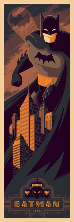 1940s Batman by Tom Whalen