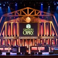 Nashville - We saw Brad Paisley on his debut on the Grand Ole Opry stage. Awesome!