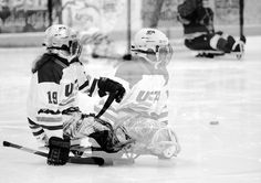 Sled hockey, hockey, sports, sports photography, adaptive sports, photojournalism, team USA