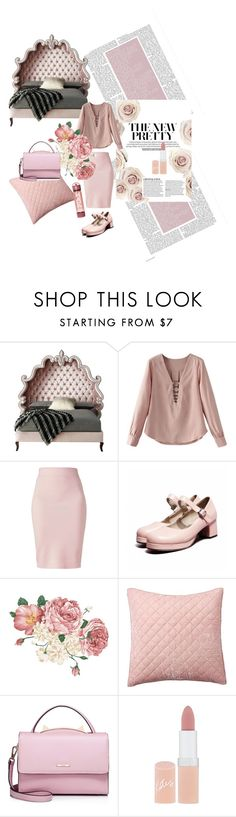 """""""Senza titolo #15"""" by hugmerossi ❤ liked on Polyvore featuring Haute House, Winser London, Pottery Barn, WithChic and Rimmel"""