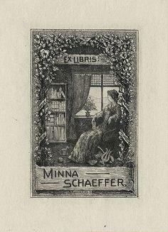 [Bookplate of Minna Schaeffer]  Artist: Reiss, W. | Flickr - Photo Sharing!