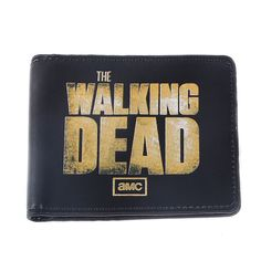 The unique Wallet 3D Print Walking Dead Title Emblem Zombie Zombies  -