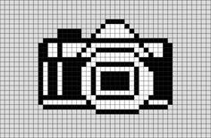Camera Pixel Art