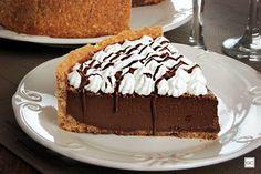 torta gelada de café e chocolate Oreo Torta, Tiramisu, Muffins, Bakery, Pudding, Cupcakes, Ethnic Recipes, Desserts, Food