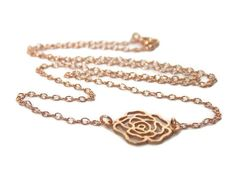 Rose Blossom Necklace