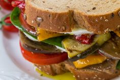 We've reinvented the classic club with grilled veggies and whole grain bread, making this veggie sandwich a new classic that will soon replace the club as your old reliable favorite.