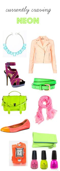 currently craving neon