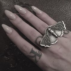 Moth ring by Bloodmilk