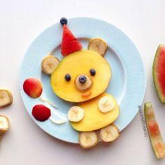 Gjør oss klar til bursdagsfeiring i kveld🎈🎈😊🇳🇴🎈🇳🇴 Getting ready for my birthday-party tonight😄🇳🇴🎈🎉 Cute Snacks, Fun Snacks For Kids, Cute Food, Good Food, Funny Food, Food Art For Kids, Cooking With Kids, Toddler Meals, Kids Meals