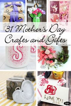 Southern Mom Loves: 31 Mother's Day Crafts and DIY Gifts to Make!