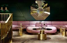 Projekt des Restaurant & Bar Design Awards 2015. Dandelyan Bar im Mondrian Hotel