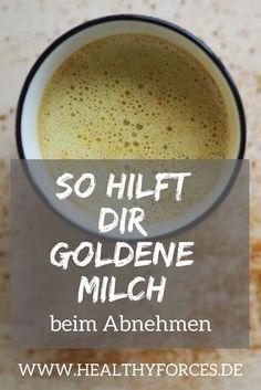 Goldene Milch zum Abnehmen? Hier erfährst du, wie die Golden Milk deinen Stoffwechsel ankurbelt und wie du dir den Trenddrink ganz einfach zu Hause anrühren kannst.