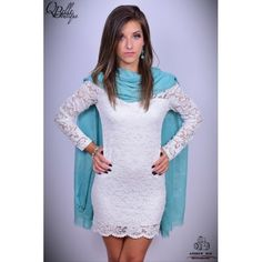 Rochie alba din dantela Beautiful Dresses, Sweaters, Fashion, Moda, Cute Dresses, Lovely Dresses, La Mode, Nice Dresses, Sweater