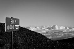 8X10 Print of Top of Haleakala Maui Hawaii by TommyLegePhotography, $20.00