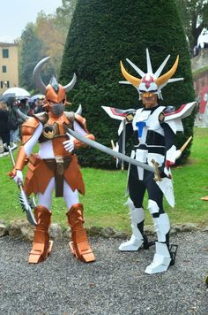...  today (10/11/04), we have Ryo and Anubis from Ronin Warriors (Yoroiden Samurai Troopers). Description from deviantart.com. I searched for this on bing.com/images