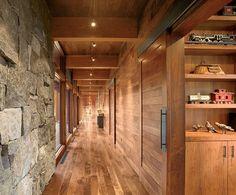 Gorgeous hallway, architectural and interior design by Robyn Morgenstern Rosenblatt (you go girl!)
