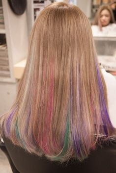 blonde pink purple ombre - Google Search