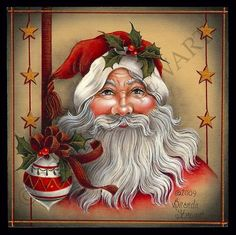 Holly Jolly Santa E-Packet