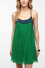 Cooperative Pleat-Tastic Frock Dress