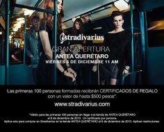 Gran apertura de Stradivarius en #Antea este viernes 6 de diciembre a las 11AM