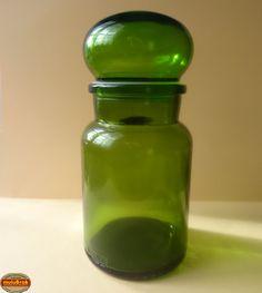 Vaisselle Vintage ... Pot en verre ARIEL ** chez muluBrok !