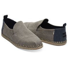 Espadrilles, Deconstruction, Men's Shoes, Shoes Style, Slippers, Slip On, Stylish, Canvas, Boots