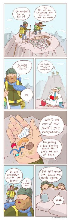 Comics By Jim Benton: 'The Expedition'