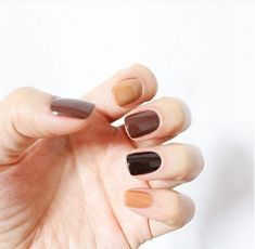 All of these nails look great for the fall and winter season and especially for this year determined by current nail polish trends.