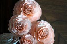 DIY paper flowers Wedding Crafts » The Sweet Beast