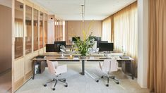 PMC Commercial Office | Workstead Interior Design Project Wood Interiors, Office Interiors, Open Concept Floor Plans, Workplace Design, Great Hotel, Office Workspace, Create Space, Commercial Interiors, Creative Studio