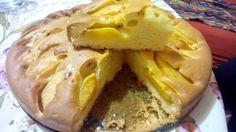 Tarta de melocotones – Torta di pesche – Recetas italianas, recetas de cocina italiana en espanol