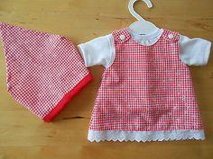 Puppenkleidung-Niedliches-Kleid-fuer-Baby-Annabell