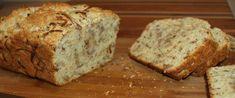 Ropogós hagymás kenyér házilag - Nem kell keleszteni - Receptek | SóBors Vegan Vegetarian, Vegetarian Recipes, Snack Bar, Banana Bread, Bakery, Muffin, Snacks, Meals, Food