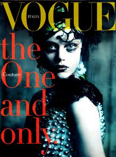 Influence and Stardoll: Editorial ♥ || The Haute Couture: Frida Gustavsson and Jac by Paolo Roversi for Vogue Italia September 2011