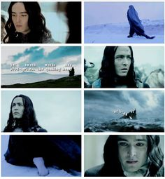 "Maglor, son of Fëanor    ""If none can release us, than indeed the Everlasting Darkness shall be our lot, whether we keep our oath or break it; but less evil shall we do in the breaking."""