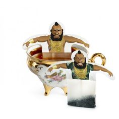 Tea Bags That Look Like Mr. T