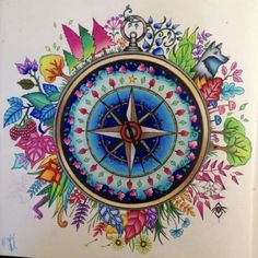 Johanna Basford | Colouring Gallery | By M Rutiaga